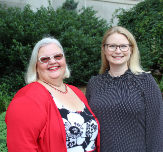 Study co-authors Drs. Mary Ann Kelly and Jill Glauiser