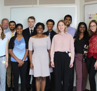 Conte Center Undergraduate Summer Research Program Participants